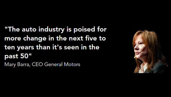 Mary Barra, CEO General Motors